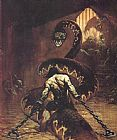 Frank Frazetta Conan the Usurper painting
